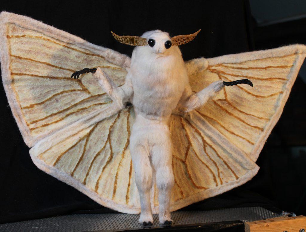 Mothman puppet